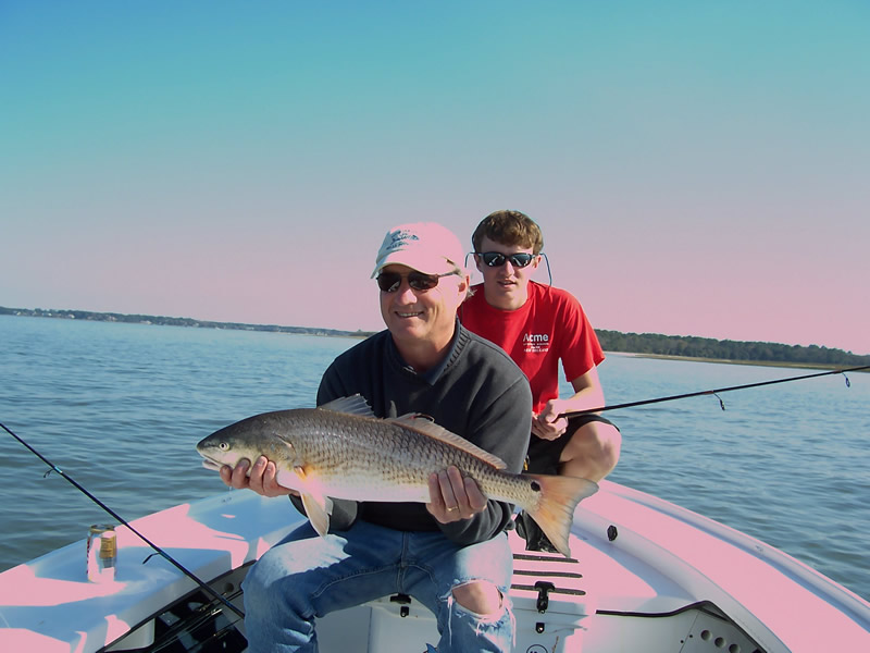 Hilton head island charter fishing photo gallery hilton for Hilton head inshore fishing
