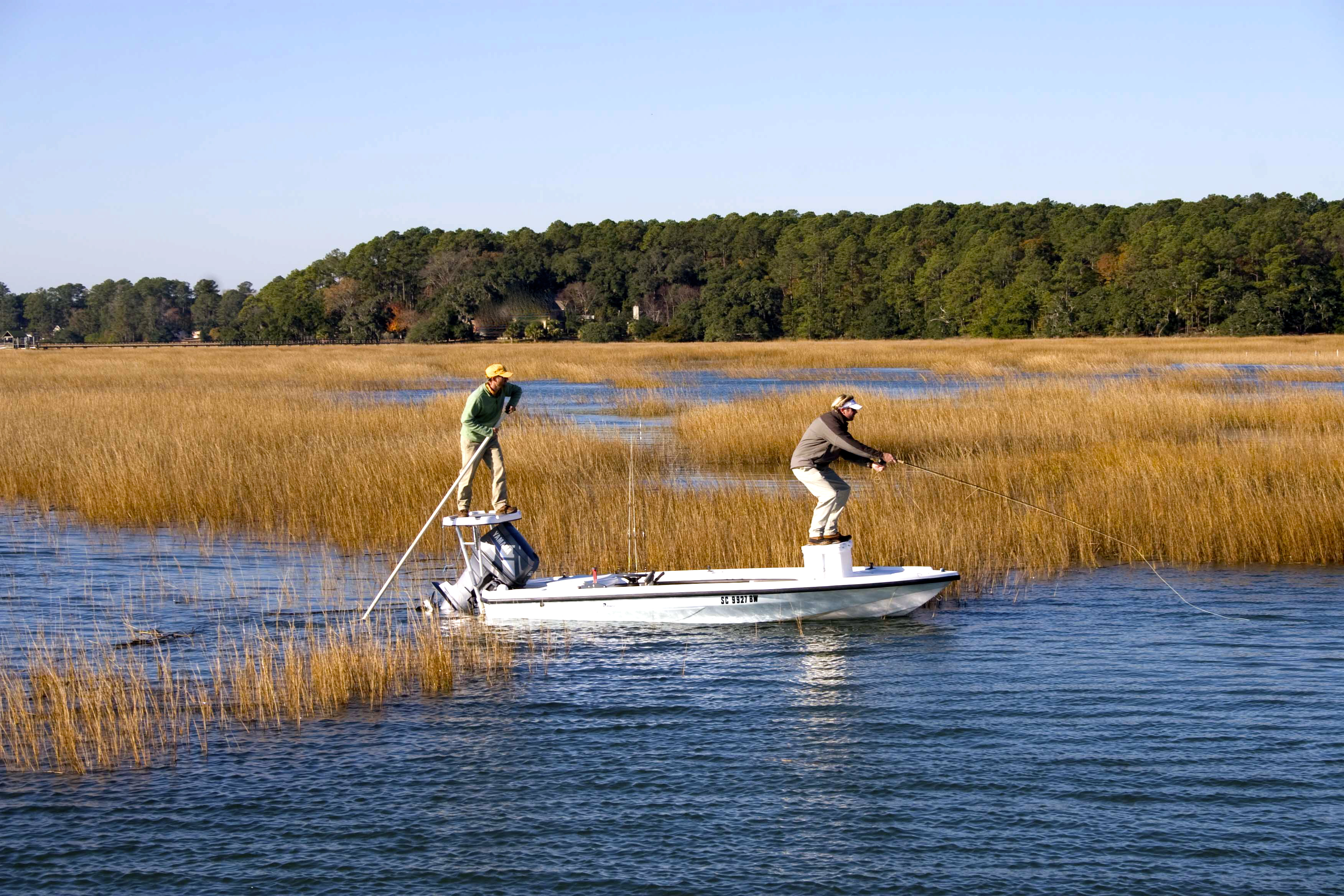 hilton head fishing charters inshore fishing guide