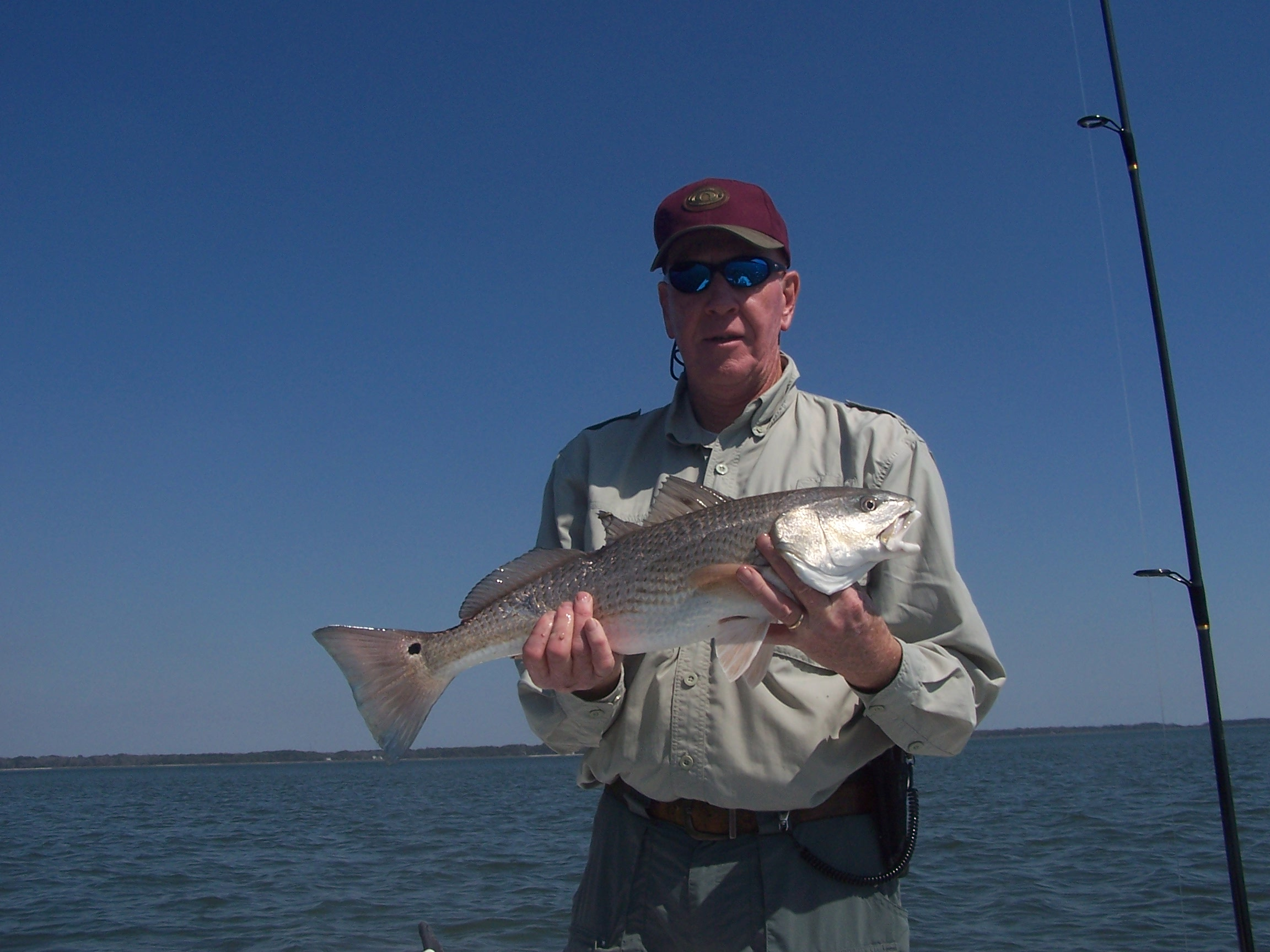 February fishing forecast for hilton head sc for Red fish hilton head sc