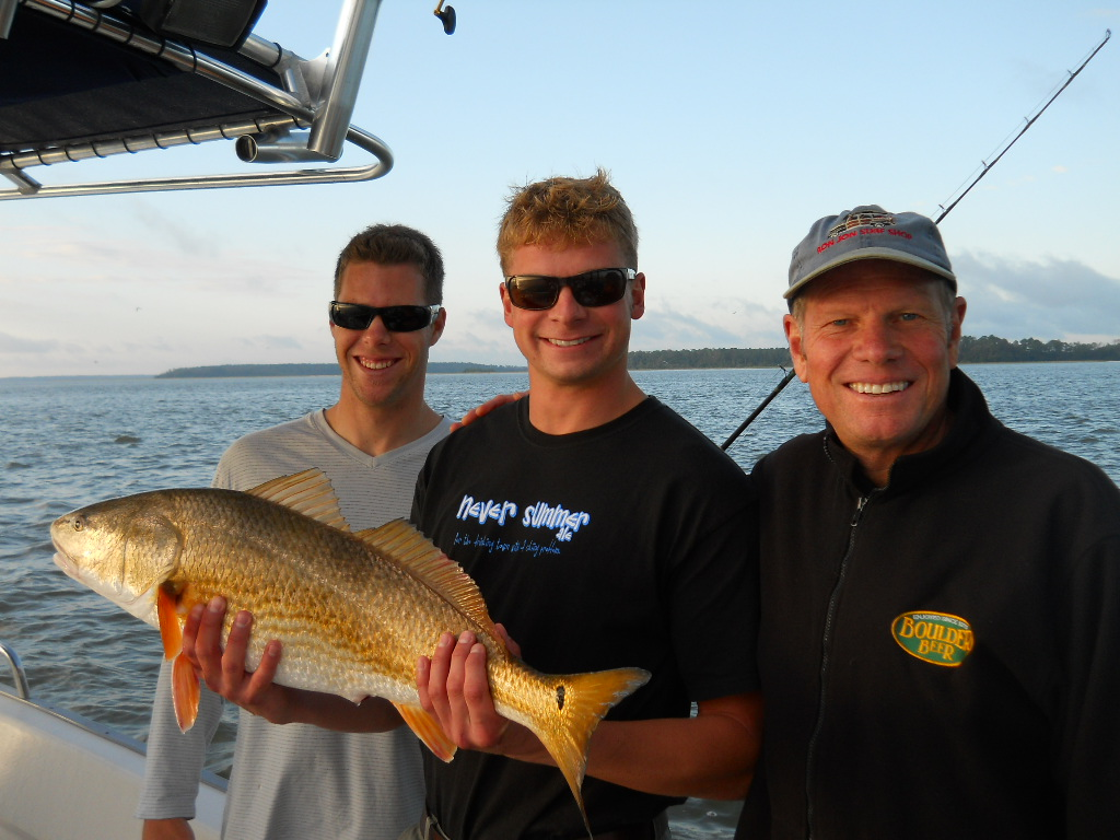 Hilton head fishing report october for Sc fishing report