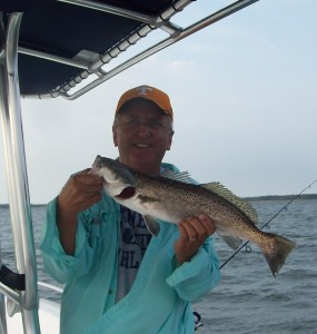 hilton head inshore fishing charters - 23 inch trout