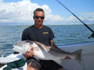 Huge Bull Redfish