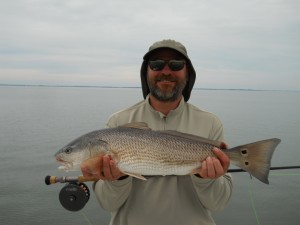 hilton head fly fishing guides - redfish on the fly