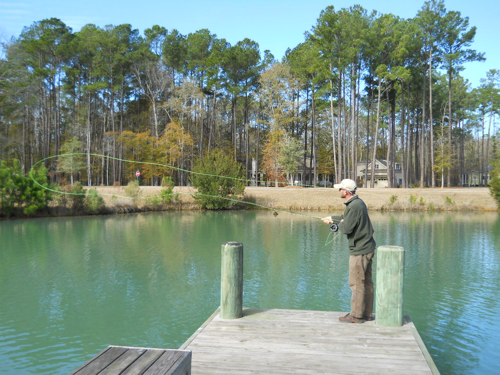 Fly Casting Instruction In Hilton Head SC