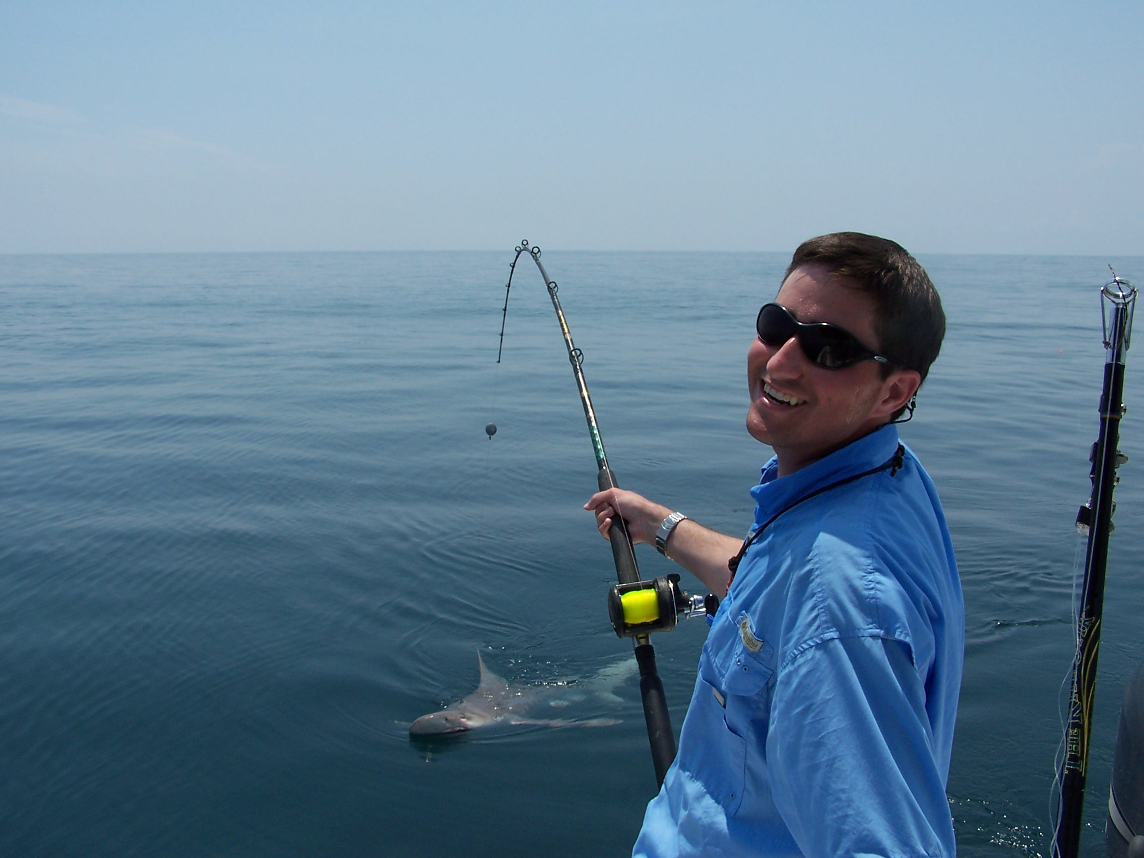 Hilton head shark fishing charters 3 hour shark fishing for South carolina fishing