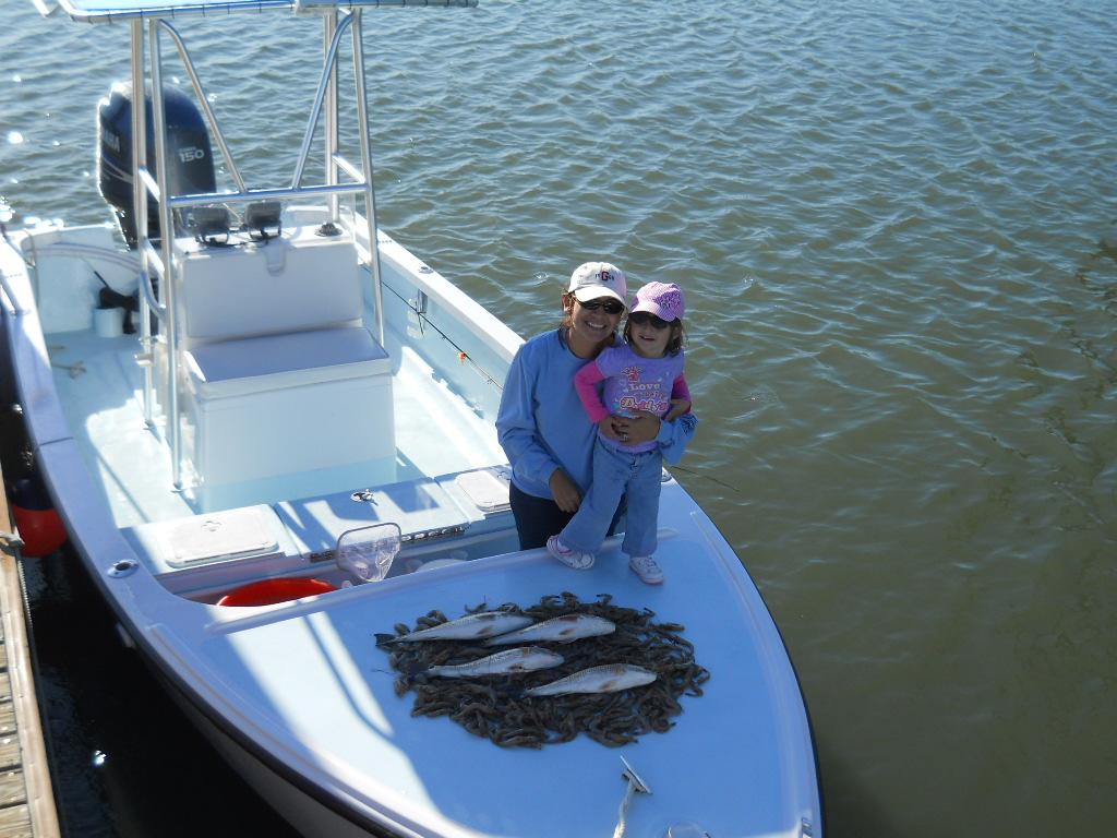 Shrimping trips in hilton head south carolina deep hole for South carolina saltwater fishing