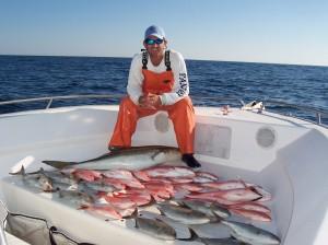 Fishing the Wrecks - Nice Catch!
