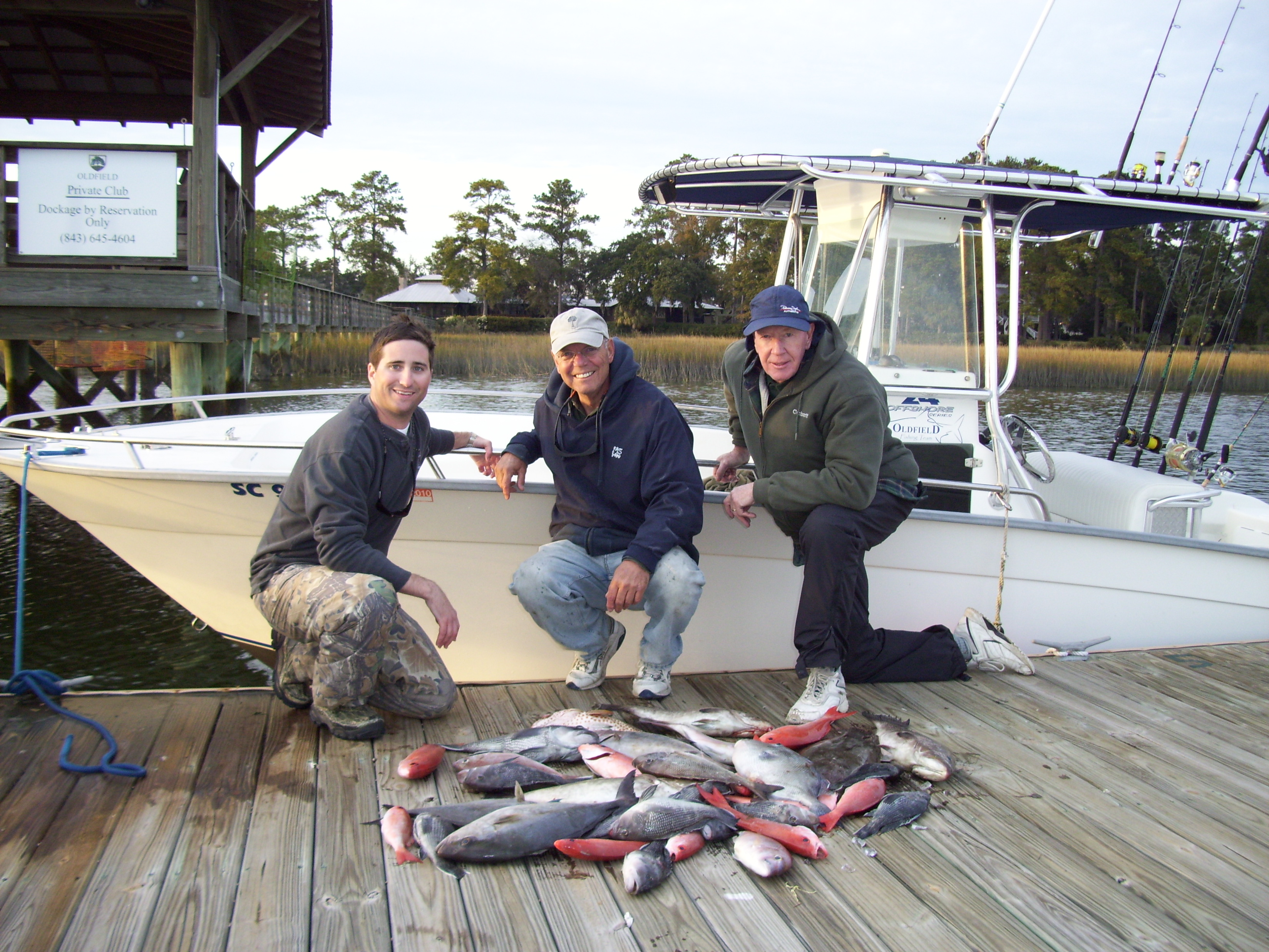 hilton head wreck fishing charters nearshore bottom