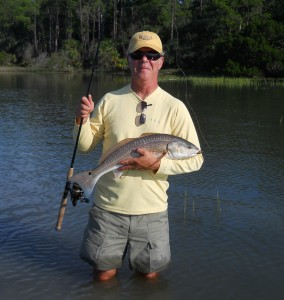 Hilton Head, SC redfish - Hilton Head Fishing Adventures