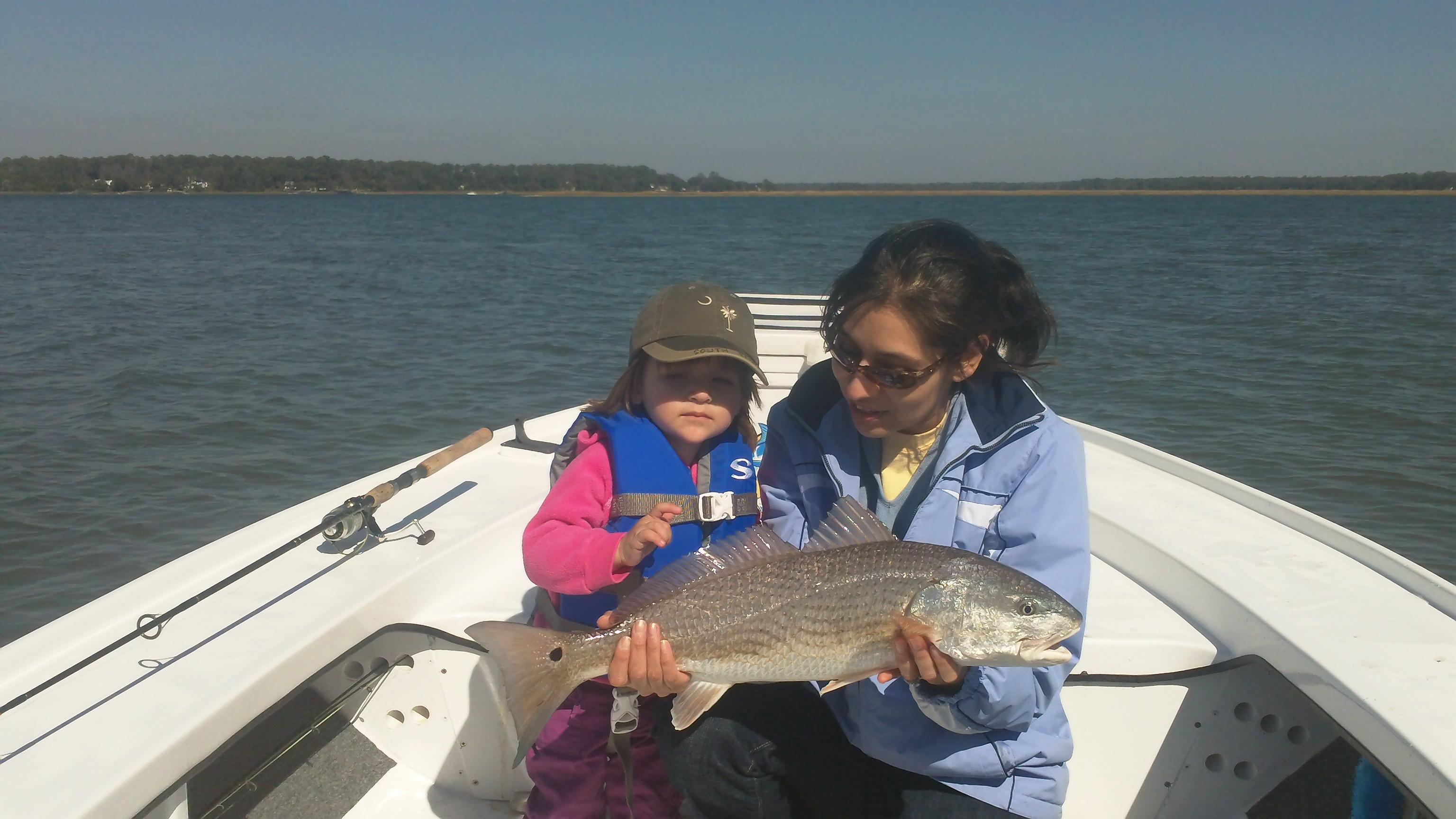 Hilton head fishing report redfish trout sheepshead for Fishing in hilton head