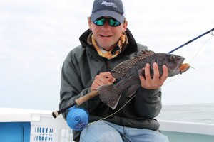 Fly Fishing for Black Sea Bass in Hilton Head, SC