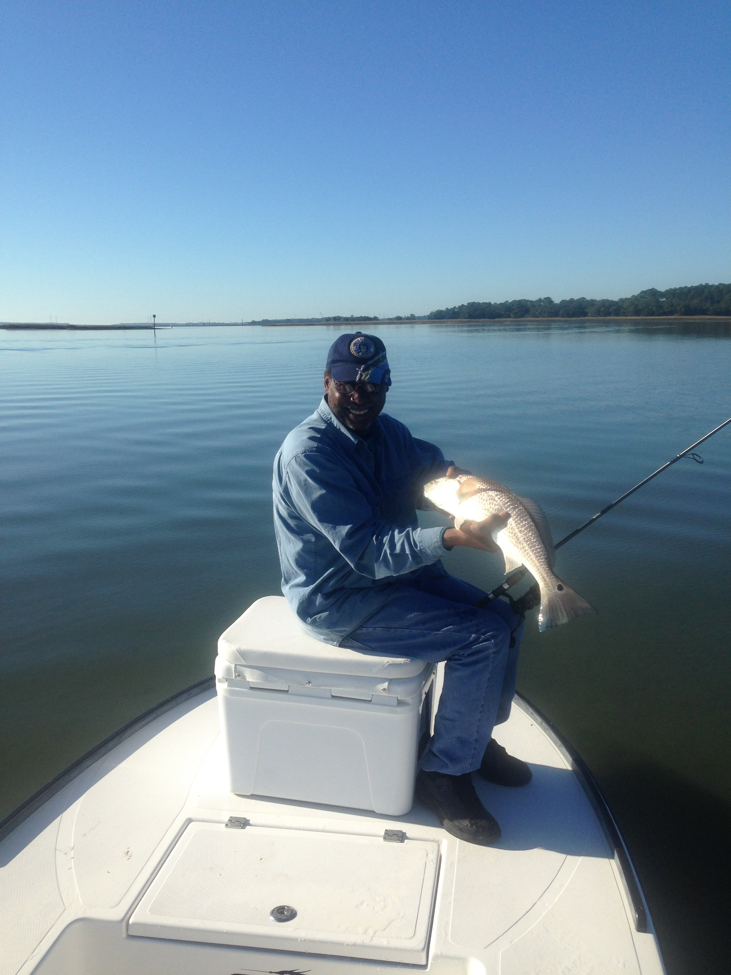 January fishing report for hilton head sc hiton head for Hilton head inshore fishing