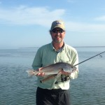 Flat Calm Redfish Action