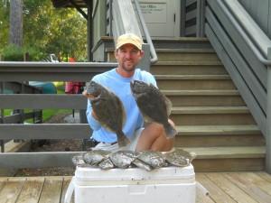 South Carolina flounder fishing