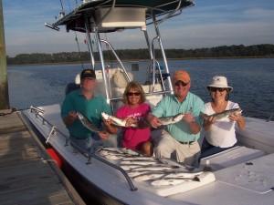 Trout fishing in Hilton Head, SC